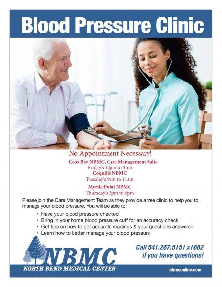 Free Blood Pressure Clinics
