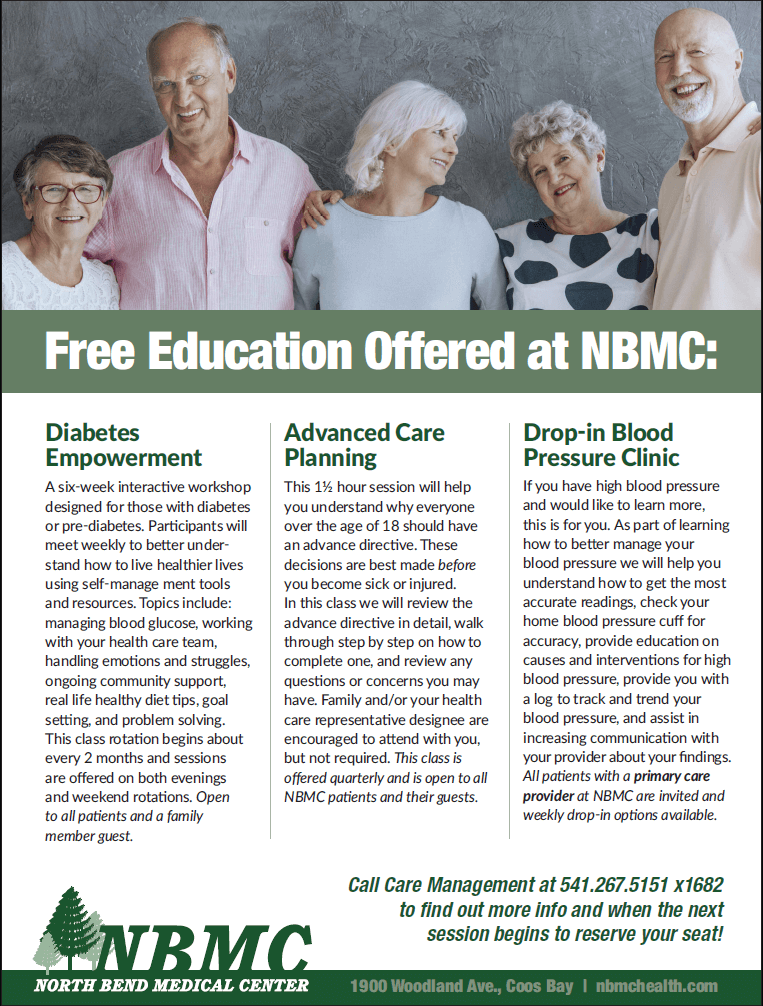 Free Education Flyer