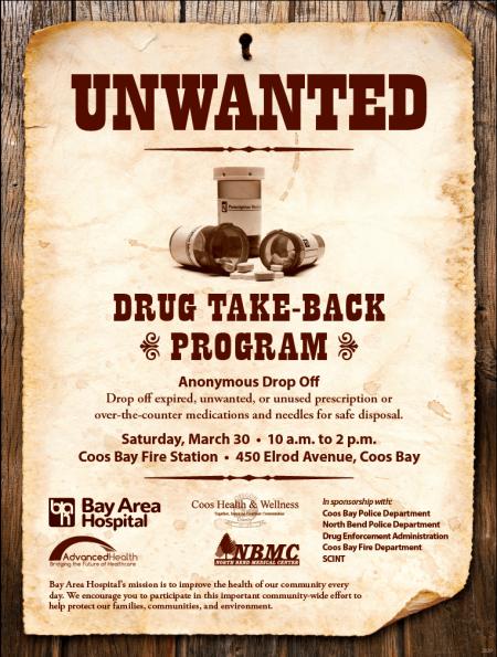 unwanted drugs