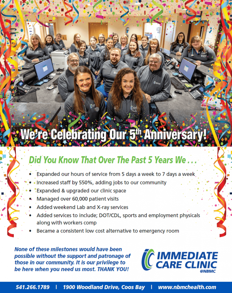 Immediate Care Clinic Celebrates 5 Years!
