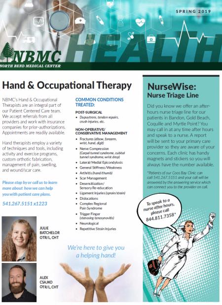 NBMC Newsletter – Spring 2019